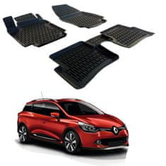 SCOUTT Gumové rohože 3DSRM SCOUTT Renault Clio 4 2013-