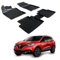 SCOUTT Gumové rohože 3DSRM SCOUTT Renault Kadjar 2015-