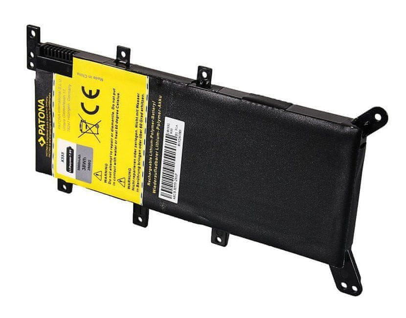 PATONA Baterie pro notebooky ASUS X555, 5000 mAh, Li-pol, 7,6 V, C21N1347 (PT2806)