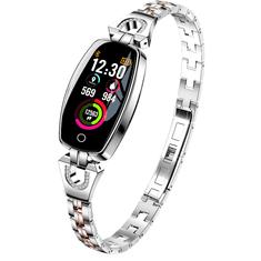 Smartomat Chicband stříbrná, dámské chytré hodinky (smartwatch)