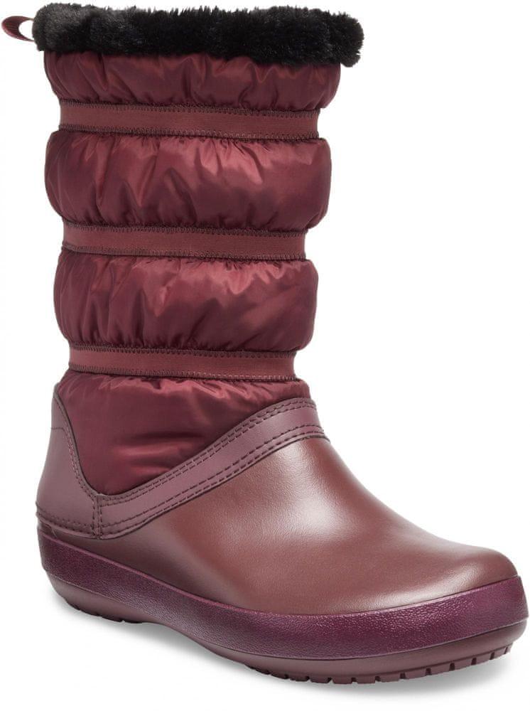 Crocs Crocband Winter Boot W Burgundy W7 (37-38)