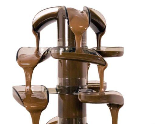 Richard Bergendi Cascade Inox csokoládé szökőkút