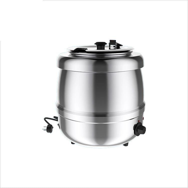 Richard Bergendi Kotlíkový ohřívač na polévku, nerezový, 400 W, Kapacita 10L