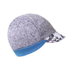 Unuo Metricon fantovska kapa s šiltom, svetlo siva, XS