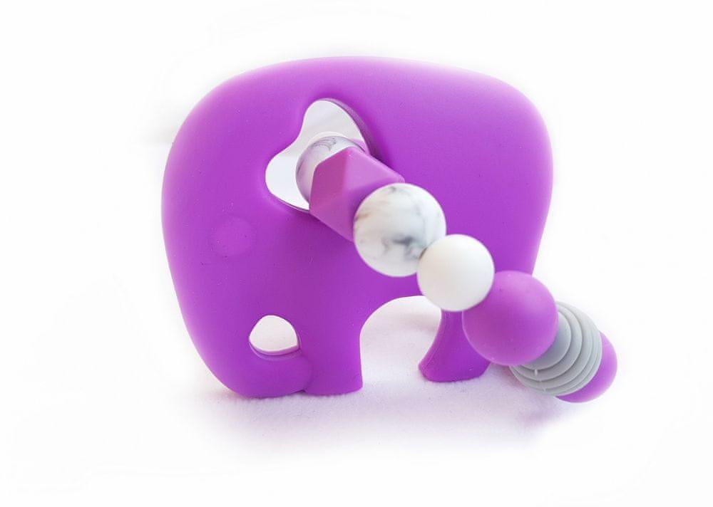KidPro Silikonové kousátko: Sloník Vanda