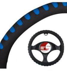 4Cars 4CARS Poťah volantu penový 37-39 čierno-modrý