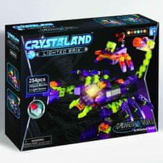 CrystaLand kocke za sastavljanje škorpion, 254kom