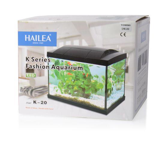 Hailea LED akvárium K20 černé