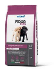 Vincent Fidog Petty suha hrana za pasje mladiče, 4 kg