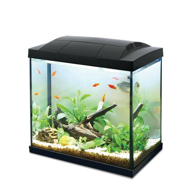 Hailea LED K30 akvarijní set 36x23x36 cm, 30 l černý