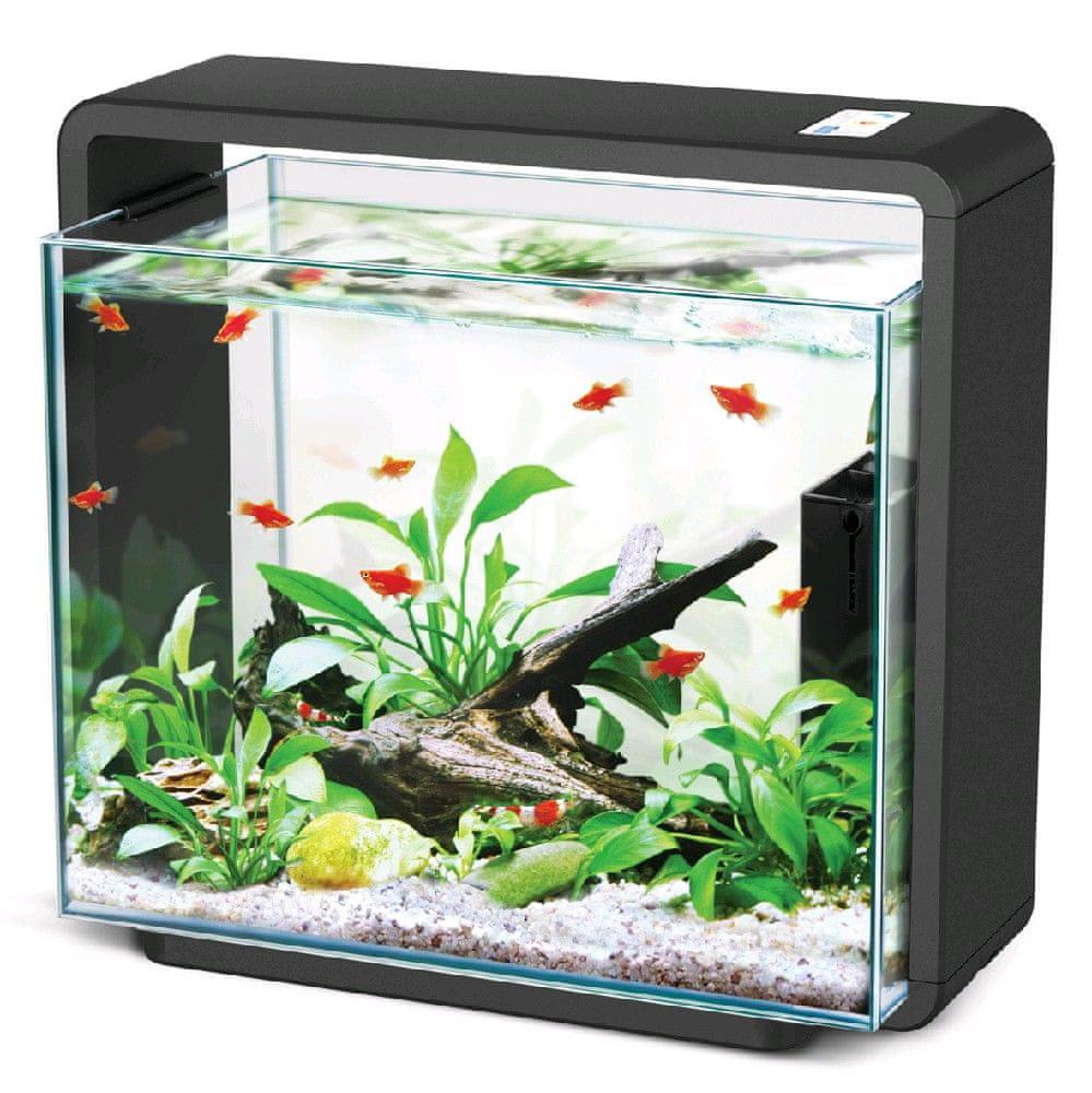 Hailea Natur Biotop akvárium E-40 - černé