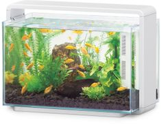 Hailea Natur Biotop akvárium E-60 - fehér