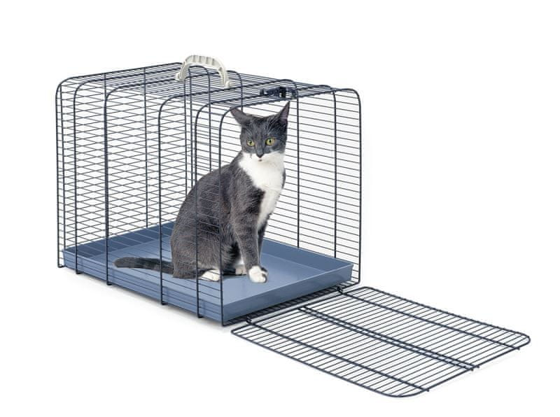 IMAC Klec pro kočku, modrá M