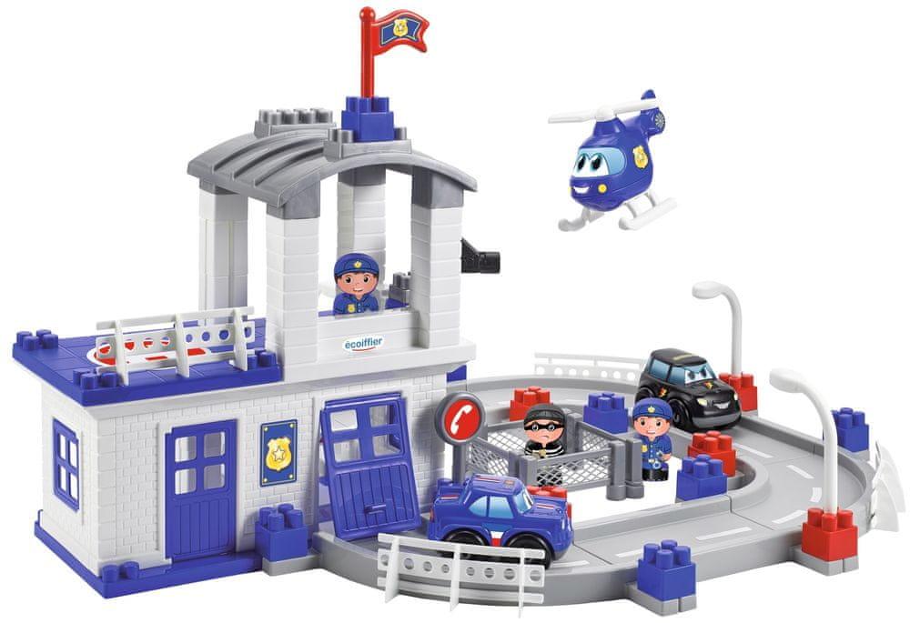 Ecoiffier Abrick Velká policejní stanice
