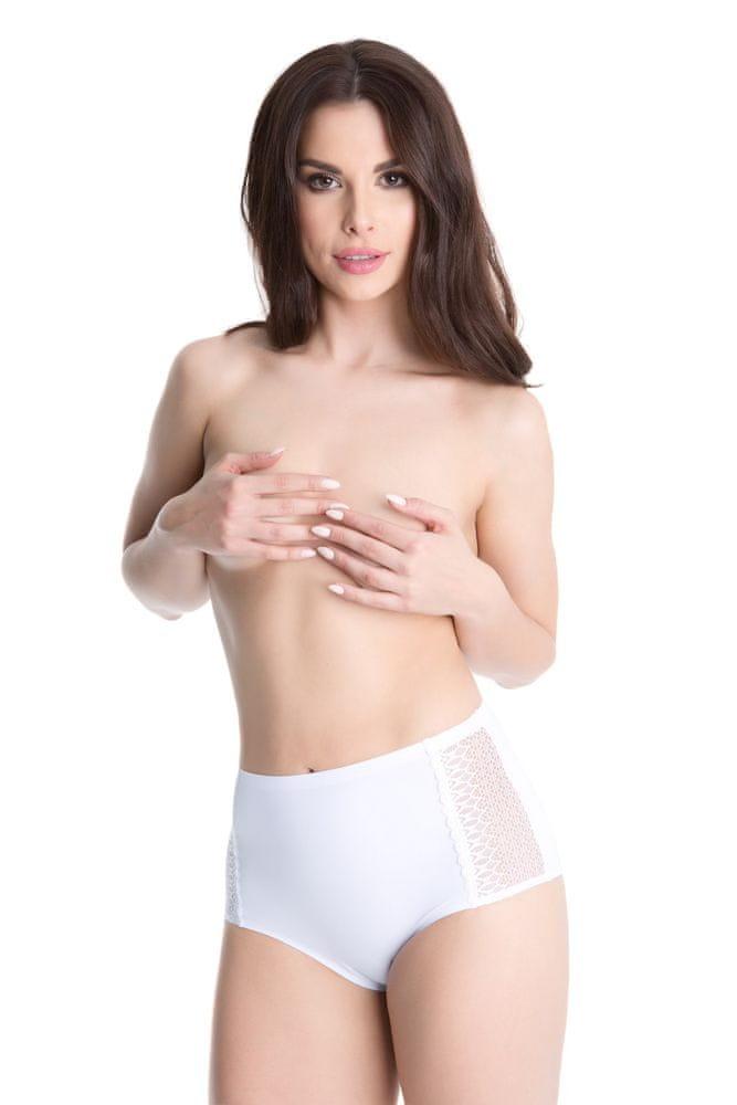 Julimex Kalhotky Opal bílá - Julimex bílá XL
