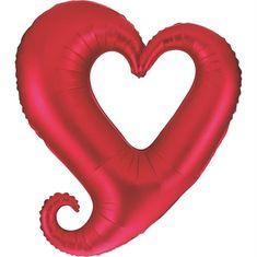 Grabo Nafukovací balónek červené srdce 94 cm