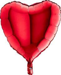 Grabo Nafukovací balónek červené srdce 46 cm