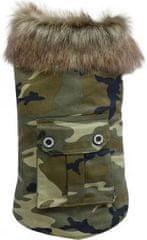 Doggy Dolly plašček, vojaški, XXL