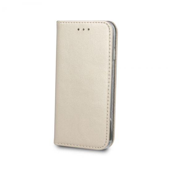 Havana Premium preklopna torbica za Huawei P Smart Z / Y9 Prime 2019, zlatna