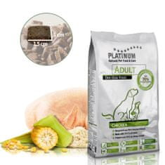Platinum Natural Adult Chicken hrana za odrasle pse, s piščancem, 5 kg