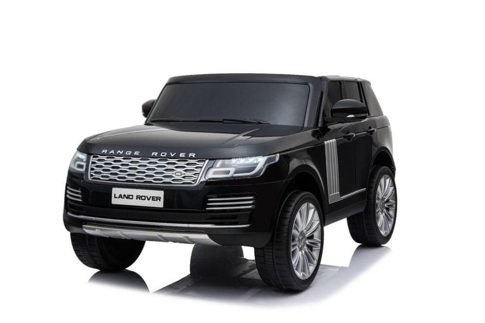 Beneo Elektrické autíčko Range Rover, Dvoumístné, Kožená sedadla, LCD Displej se vstupem USB