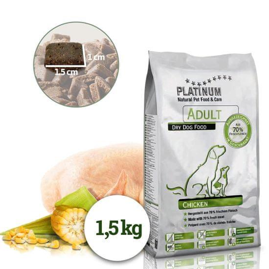 Platinum Natural Adult Chicken - Kuřecí 1,5 kg
