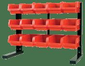 AHProfi Kovový organizér na šroubky s 15 plastovými boxy (3/15) - MSBRT2115 | AHProfi