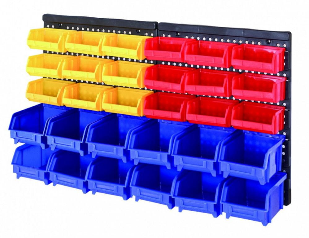 AHProfi Plastový organizér na šrouby s 30 boxy - MSBRWK1812 | AHProfi