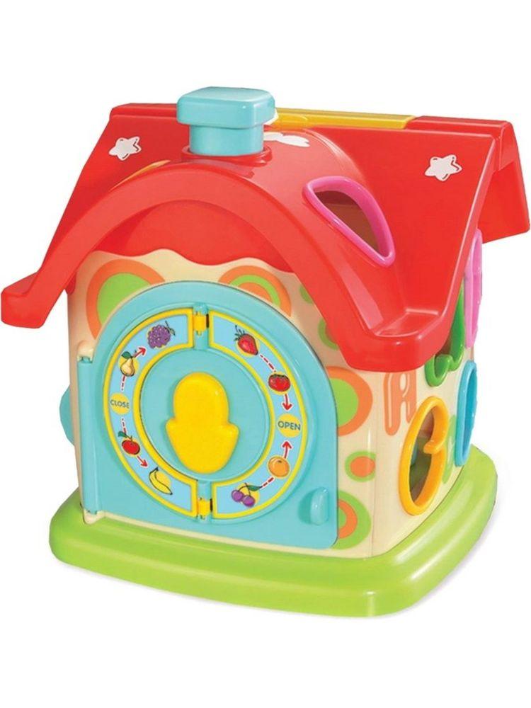Baby Mix Edukační hračka Baby Mix zábavný domeček