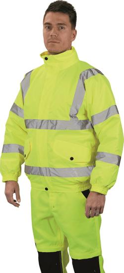 Cerva Zimní reflexní zateplená bunda Cloton pánska