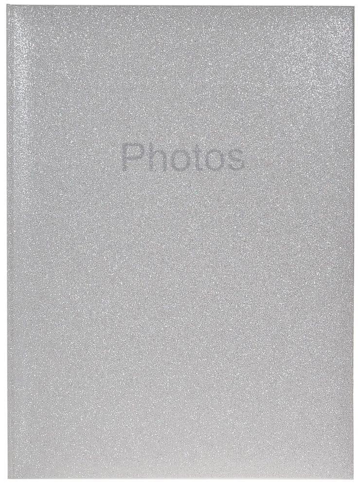 Innova Editions Fotoalbum Glitter bílý 300 10x15
