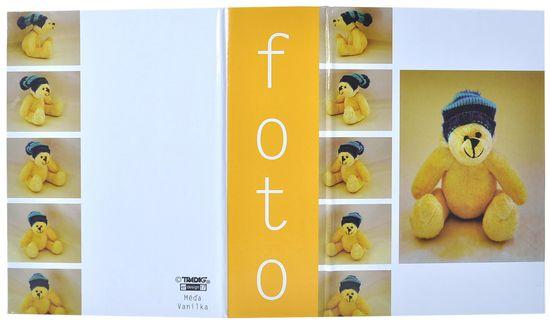 Tradag Fotoalbum Méďa žlutý 10x15