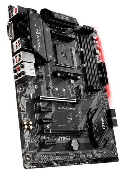MSI B450 TOMAHAWK MAX, DDR4, USB 3.2 Gen2, AM4, ATX osnovna plošča
