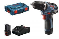 BOSCH Professional Akumulatorski vrtalnik/gonilnik GSR 12V-35, 2 akumulatorja (0.601.9H8.002)