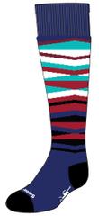SmartWool dětské ponožky K WINTERSPORT STRIPE alpine blue M