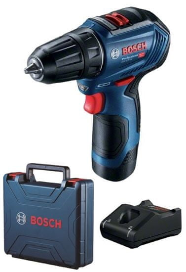 BOSCH Professional akumulatorski vrtalni vijačnik GSR 12V-30 (06019G9000)