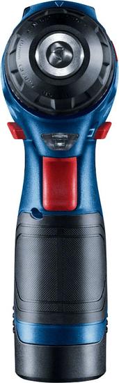 BOSCH Professional Aku vrtací šroubovák GSR 12V-30, 2 akumulátory + příslušenství (0.601.9G9.001)