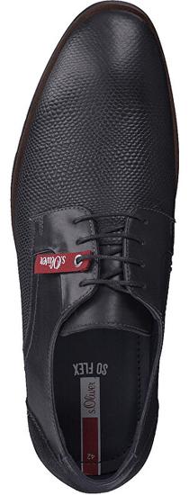 s.Oliver Férfi cipő Black dombornyomott 5-5-13205-23 -008