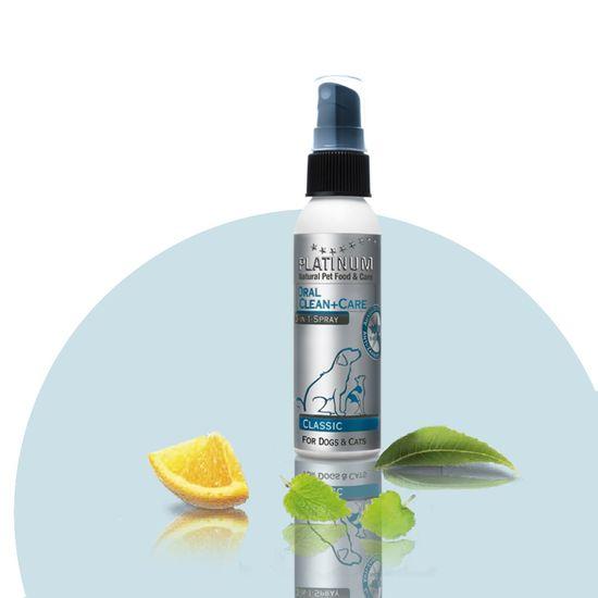Platinum Natural pripravek za oralno higieno psov Oral Clean & Care Sprej Classic, 65 ml