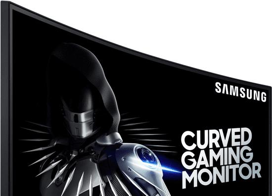 Samsung C27RG50FQU ukrivljen gaming monitor, VA, FHD, 240 Hz (LC27RG50FQRXEN)