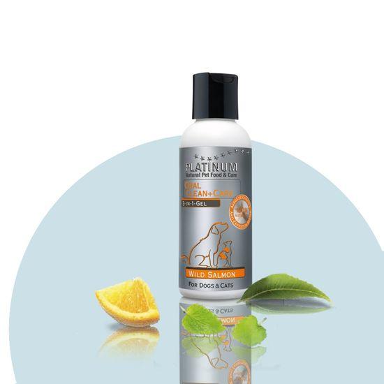 Platinum Natural pripravek za oralno higieno psov Oral Clean & Care Gel Salmon, 120 ml