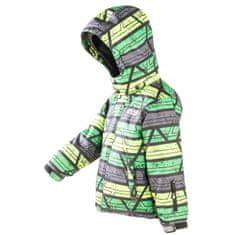 PIDILIDI fiú téli kabát 128 zöld