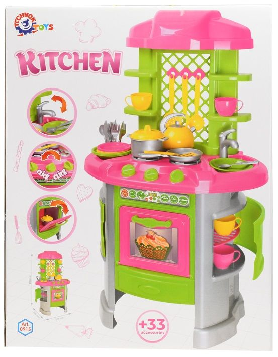 Mikro hračky Kuchyňka s doplňky 33 ks