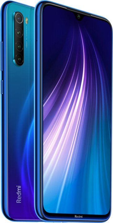 Xiaomi Redmi Note 8T, 4GB/64GB, Global Version, Neptune Blue