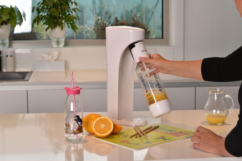 Orion Výrobník sycených nápojů DRINKMATE AQUADREAM bílý - rozbaleno