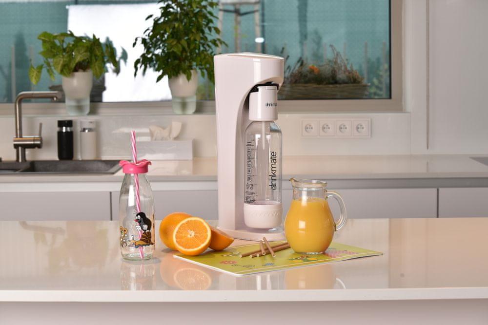 Orion Výrobník sycených nápojů DRINKMATE AQUADREAM bílý