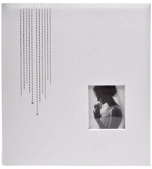 KPH Klasické album Wedding glitter biele