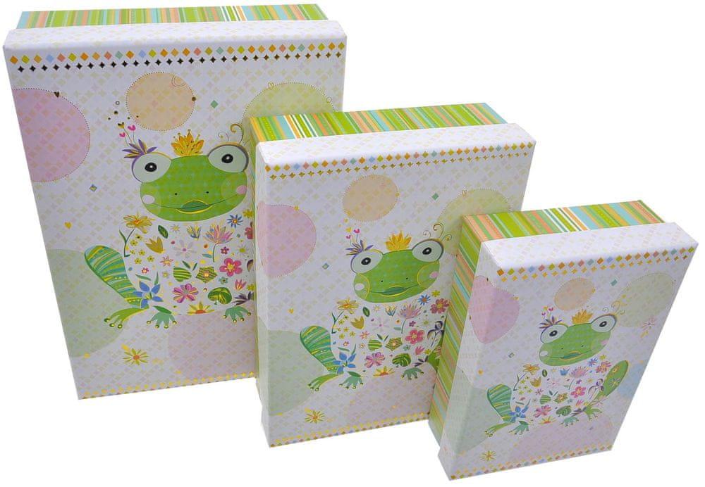 Goldbuch Dárkové krabičky Happy frog