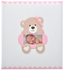 KPH Dětské fotoalbum Baby loop růžové