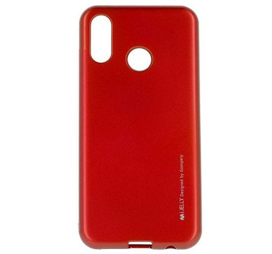 Goospery i-Jelly Metal ovitek za Huawei P Smart Z / Y9 Prime 2019, silikonski, rdeč